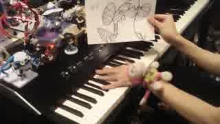 ポケモンDPのシロナ戦の曲を弾いてみた 【ピアノ】