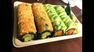 アメリカの食卓 619 NYで寿司を超えた寿司を食す!