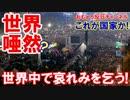 【韓国もうダメだ】 世界中でデモ開始!プラカード「これが国家か?」