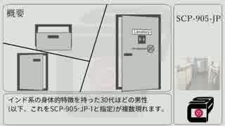[ゆっくり] SCP-905-JP [紹介]