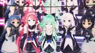 【MMD艦これ】改白露型姉妹+五月雨ちゃんで気まぐれメルシィ