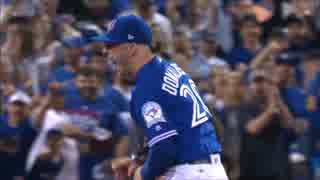 【MLB】ジョシュ・ドナルドソンのHR&好プレー集(2016年)