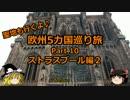 【ゆっくり】欧州5カ国巡り旅  10 ストラスブール編2【旅行】