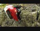 岩場を登る落ちる? 4WDラジコン車