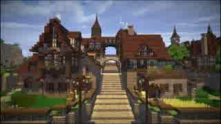 【Minecraft】ゆっくり街を広げていくよ part33-2