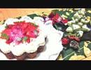 【クリスマス】スターツリークッキーと米粉のベルベットケーキ