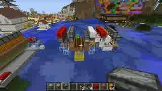 【Minecraft】 Ver1.11で「全自動かぼちゃ畑」を修正&進化する動画