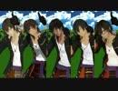 【MMD刀剣乱舞】伽羅×5で花丸OP~Ver.India~【Mashup】