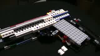 【LEGO】レゴで作った銃 仕組み