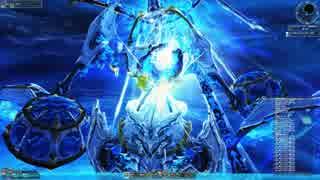 【PSO2】月駆ける幻創の母、マグロ立ちマザーを一方的に嬲る動画