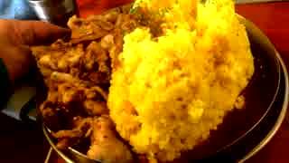 ダルシムカリーの鉄板豚バラカリー+フジヤ
