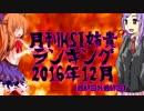月刊HSI姉貴ランキング12月号(最終回)(最