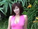 井上和香 ピンクのワンピース