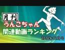 月刊うんこちゃん関連動画ランキング 2016年12月
