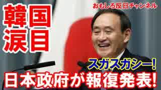【韓国が震えた】 日本政府が報復発表!スガスガシイとはこのことだ!