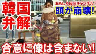 【韓国の苦しい弁解】 慰安婦合意に像を含まれない!あれは心の問題だ!