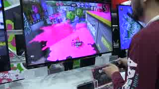 【Nintendo Switch体験会】『スプラトゥー