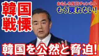 【韓国が恐怖に震えた】 中国政府が公言!行き着くところまで行こう!