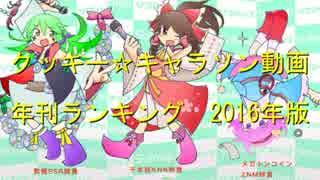 クッキー☆キャラソン動画 年間ランキング2