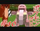 【Minecraft】ポケットモンスター シカの逆襲#10【ポケモンMOD実況】