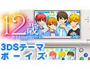 【3DSテーマ】12歳。~恋するDiary~ボーイズ