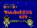 親切丁寧!てんしっちのたまごっちビデオ (1/2)