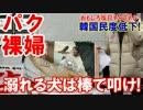 【韓国民度低下で大混乱】 溺れる犬は棒で叩いて叩いて叩くんだ!