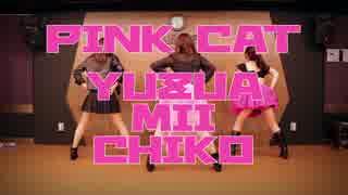 【ゆずあ・みい・ちこ】PiNK CAT【踊って