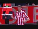 「クラウチ100ゴール目」EPL第23節、ストーク・シティFC対エヴァートンFC