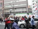 2017年2月5日 新宿御苑アパホテル前の反日デモ