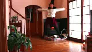 【初投稿】 ハッピーシンセサイザ 踊ってみた 【丸井かお】