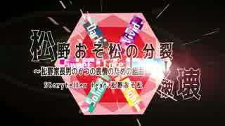 【松人力+手描き】松野おそ松の分l裂l→l破l壊【松野おそ松7人合作】