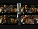 4画面 バイオハザード3 4片コン 8足ペダル駆使しクリア 病院 後半