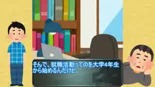 【春休み】俺、未来のお前だけど無職だよ。【いらすとや】
