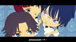 【テニプリMMD】smooooch・∀・【自作モデ