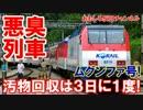 【韓国の悪臭漂う列車】 カーテンからも激臭!汚物回収3日に1度だけ!