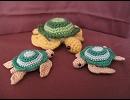 【あみぐるみ】海亀を編んでみた