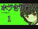 【Horizon Zero Dawn】ホラきりたん01【VOICEROID+】