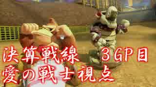 マリオカート8 決算戦線 3GP目【愛の戦士(