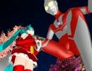 【第6回MMD杯本選】ゾフィー隊長、ミクさんと クリスマス♪