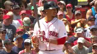 【MLB】ALMVP投票2位のムーキー・ベッツのHR&好プレー