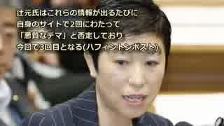 辻元清美、生コン否定に必死な理由!大手メディアが報道しない
