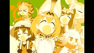 /a/ sings Welcome to Youkoso Japari Par