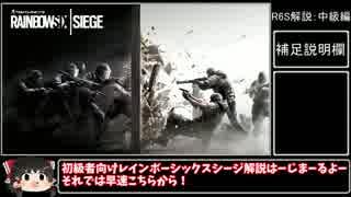【Rainbow Six Siege】初級者のための解説