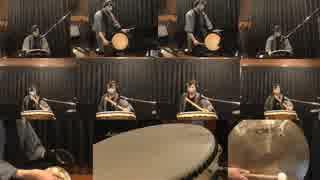 【和太鼓で】幼女戦記OP 「JINGO JUNGLE」【バナナオレ】