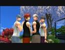 【Sims4】男子高校生4人で極楽浄土