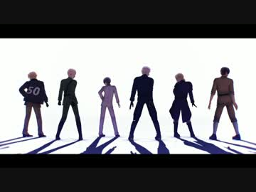 【AP Hetalia MMD】 Love Me If You Can [United States · Britain, Japan and France · West]