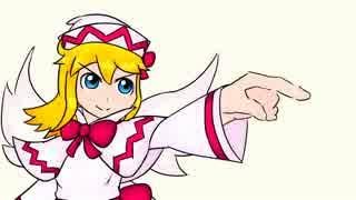 【東方手描き】リリーと大妖精の3分タイマー