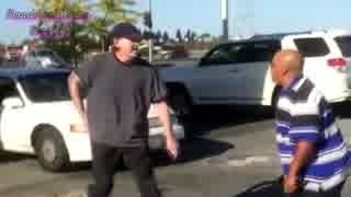 【車載動画】ドライバー同士の喧嘩inアメ