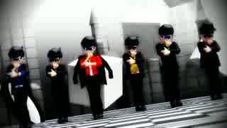 【MMDおそ松さん】六つ子でシェアハピ(Sha